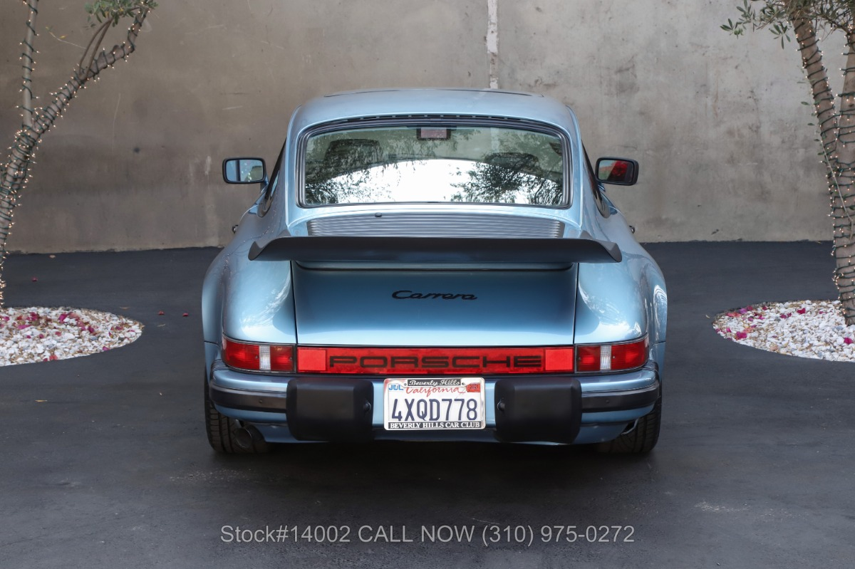 Used 1986 Porsche Carrera Coupe | Los Angeles, CA