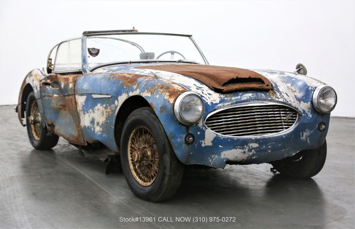 1958 Austin-Healey 100-6 BN4 Convertible Sports Car
