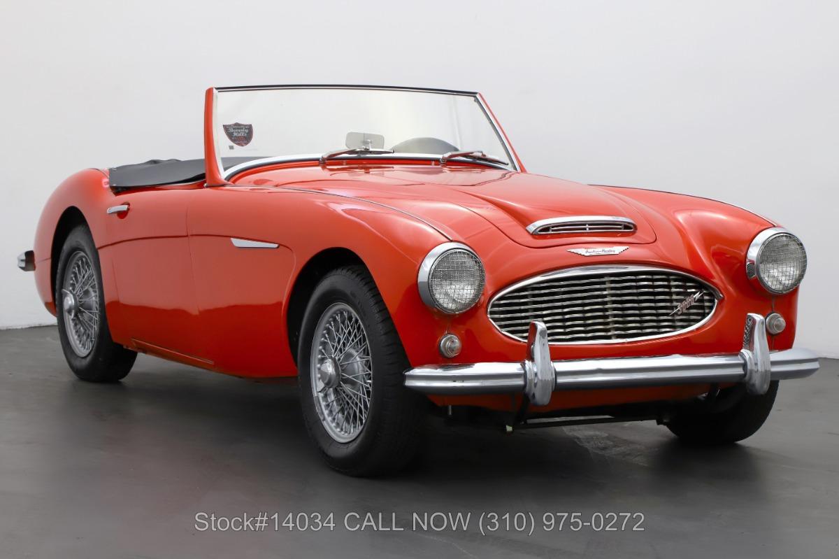 1960 Austin-Healey 3000 BN7 Convertible Sports Car