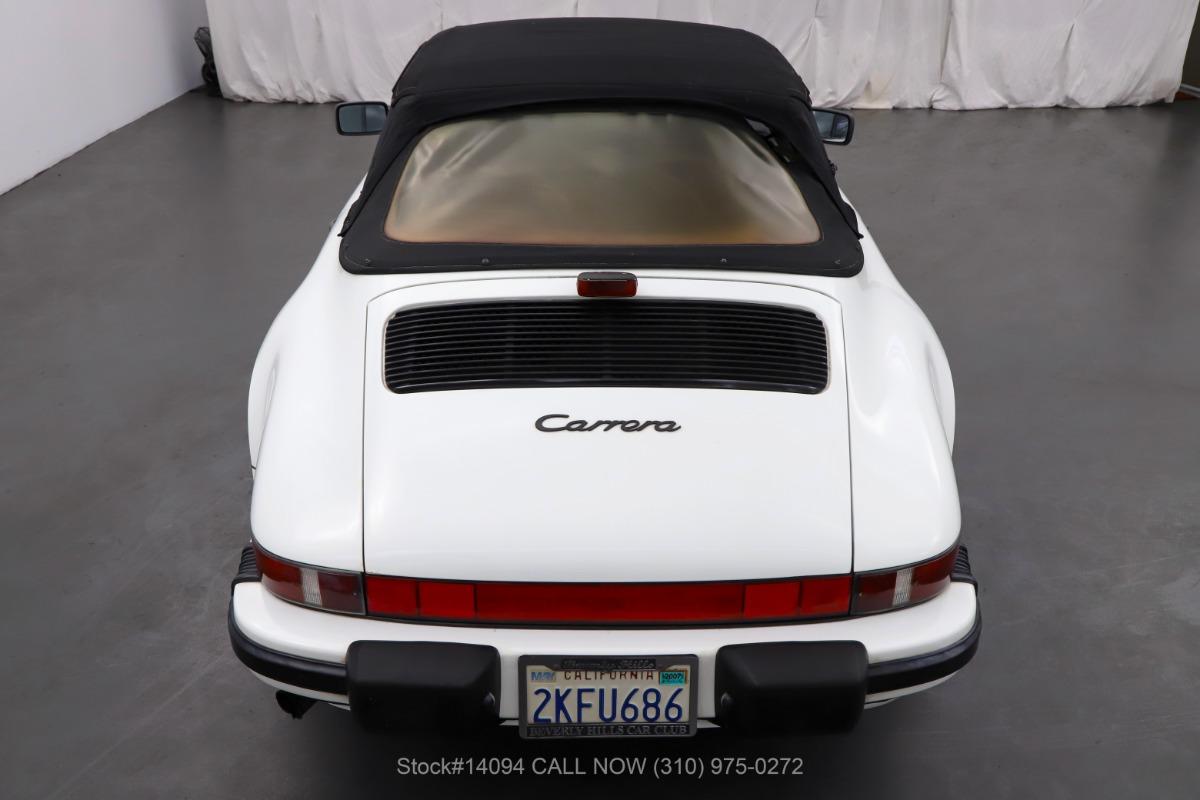Used 1988 Porsche Carrera Cabriolet   Los Angeles, CA
