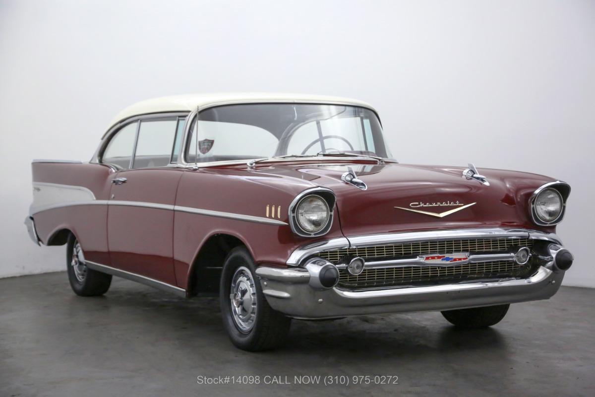 1957 Chevrolet Bel Air 2-Door Hardtop No Post