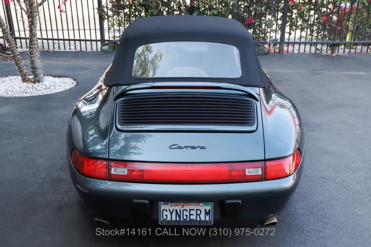 Used 1996 Porsche 993 Carrera Cabriolet   Los Angeles, CA