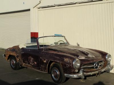 1955 mercedes benz 190sl for Mercedes benz of beverly hills inventory