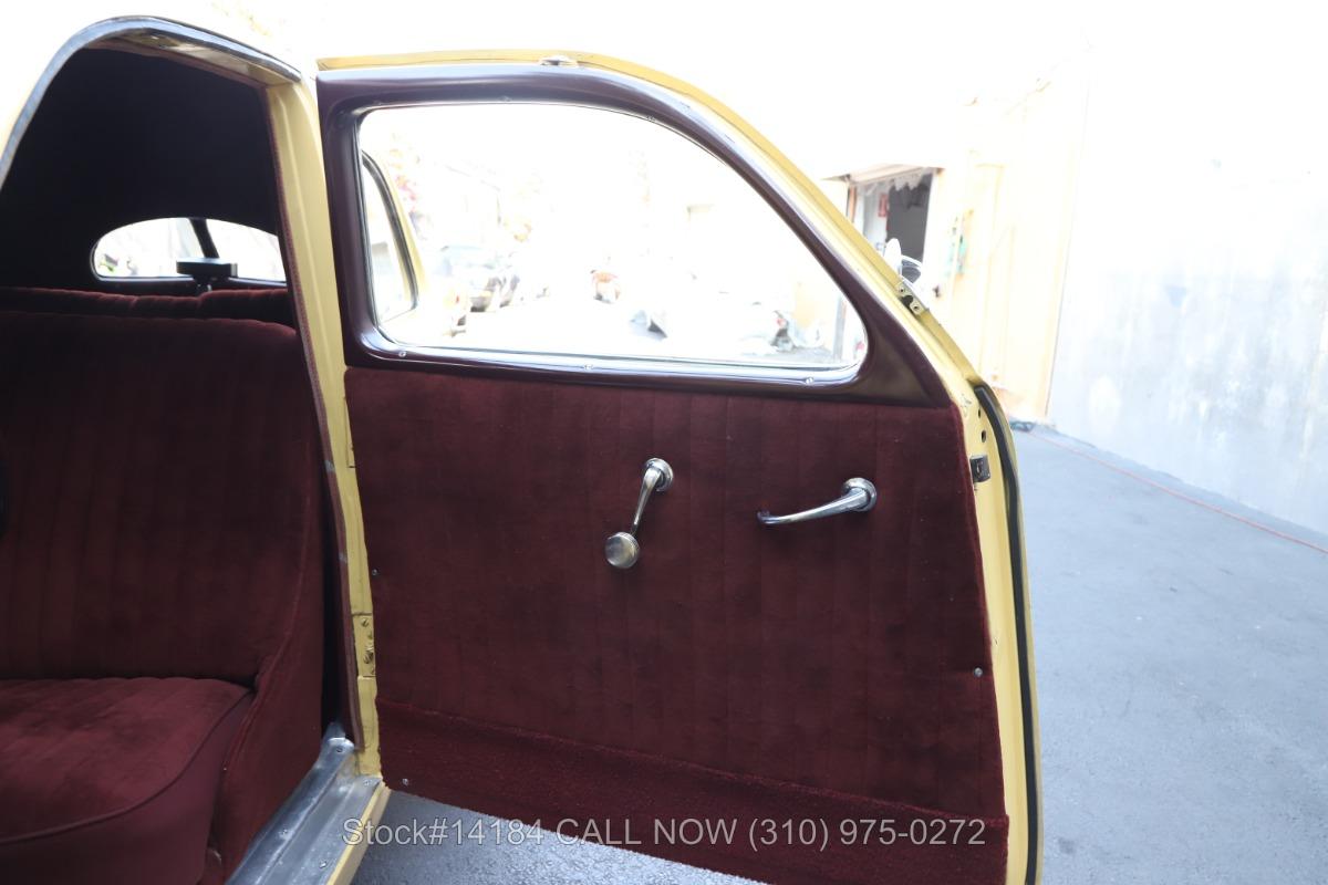 Used 1936 Cord 810 Westchester Sedan | Los Angeles, CA