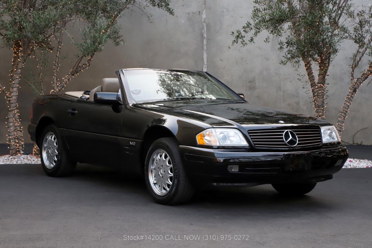 1998 Mercedes-Benz SL600