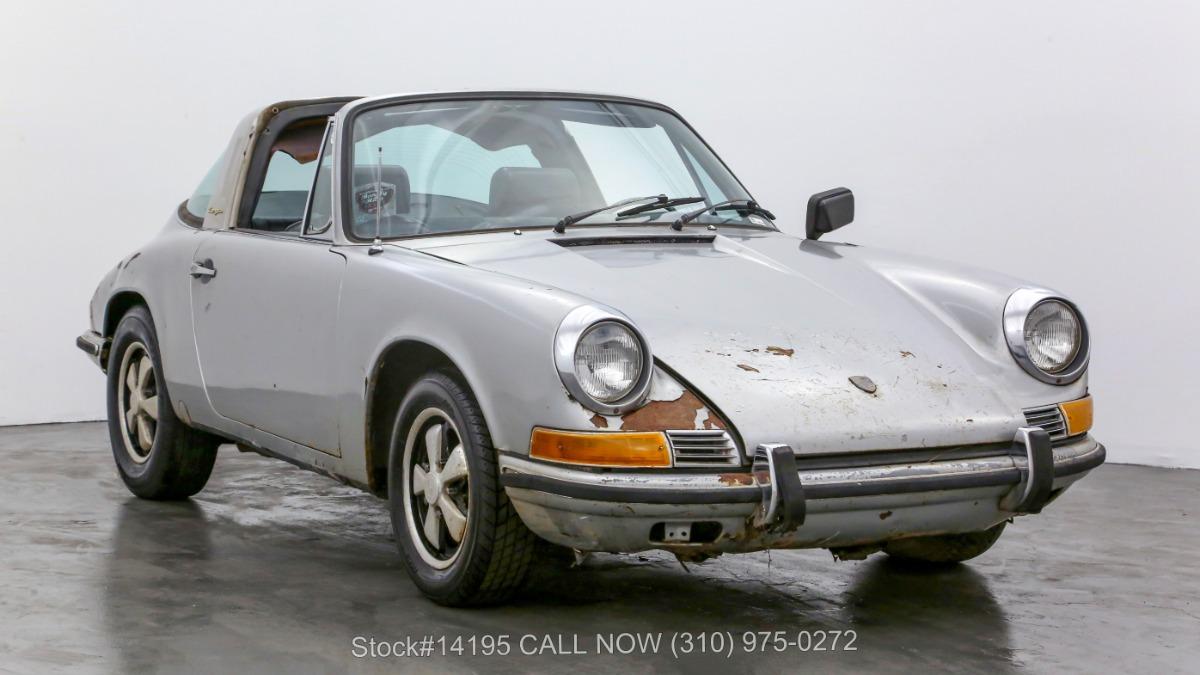 1969 Porsche 911E Sportomatic Targa
