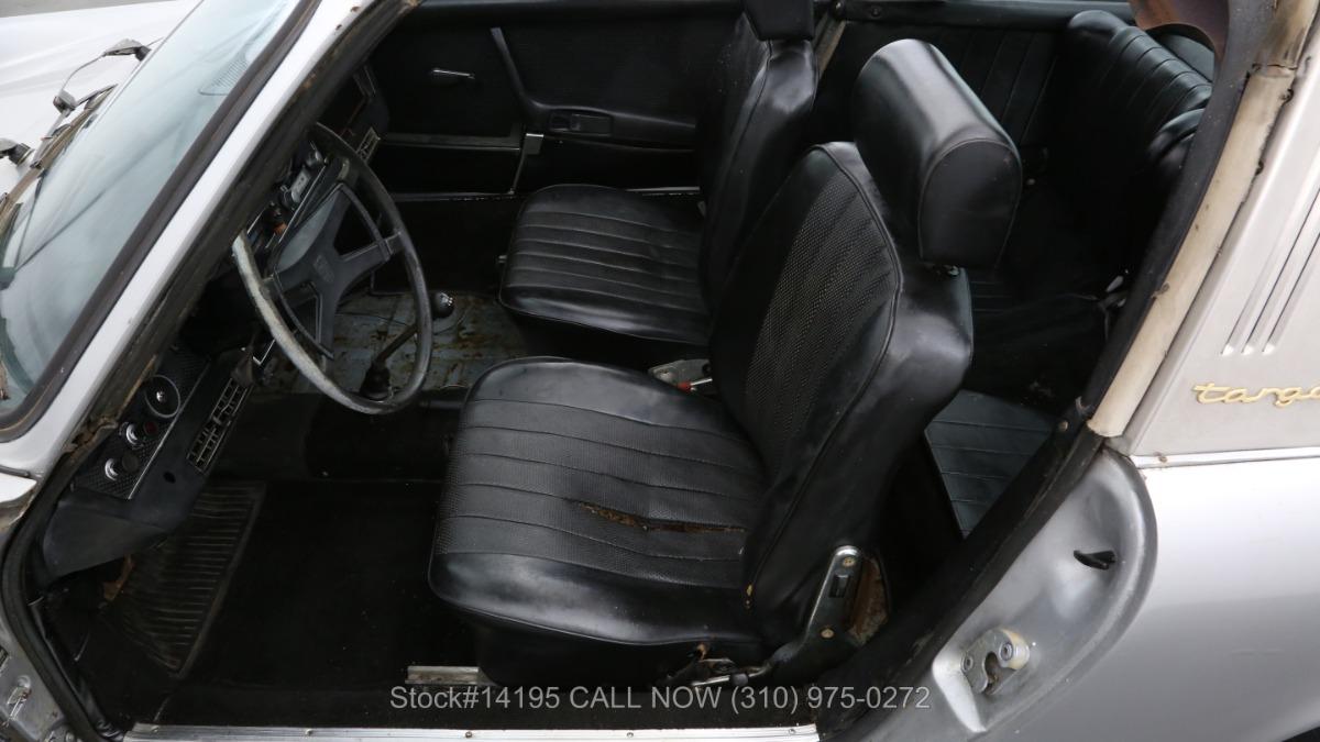 Used 1969 Porsche 911E Sportomatic Targa   Los Angeles, CA