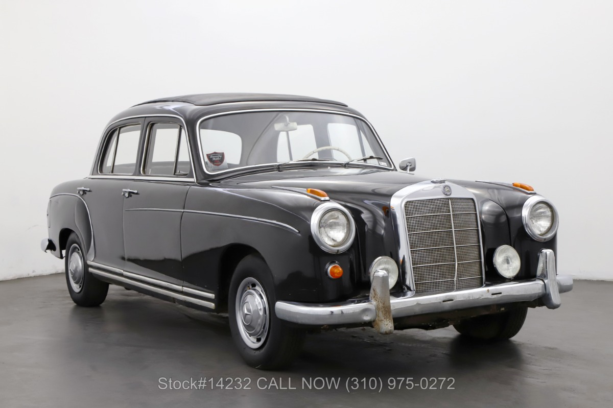 1959 Mercedes-Benz 220S Webasto Sunroof Sedan