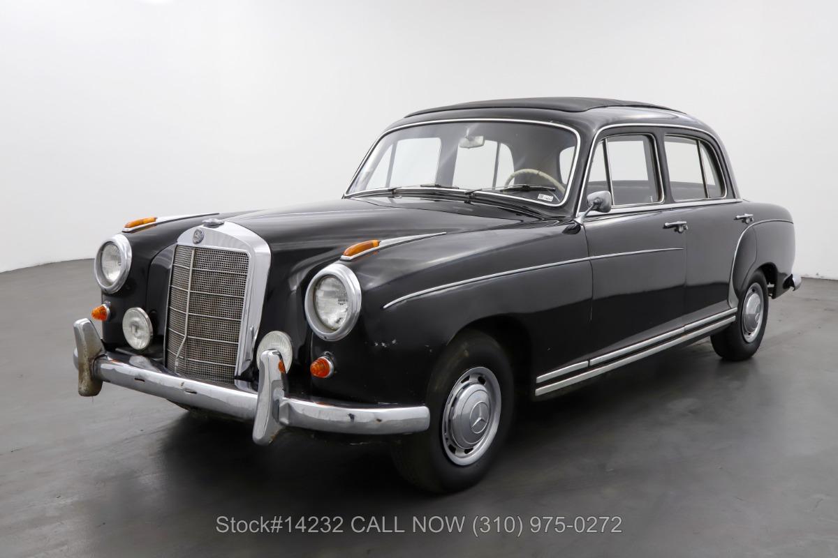 Used 1959 Mercedes-Benz 220S Webasto Sunroof Sedan   Los Angeles, CA