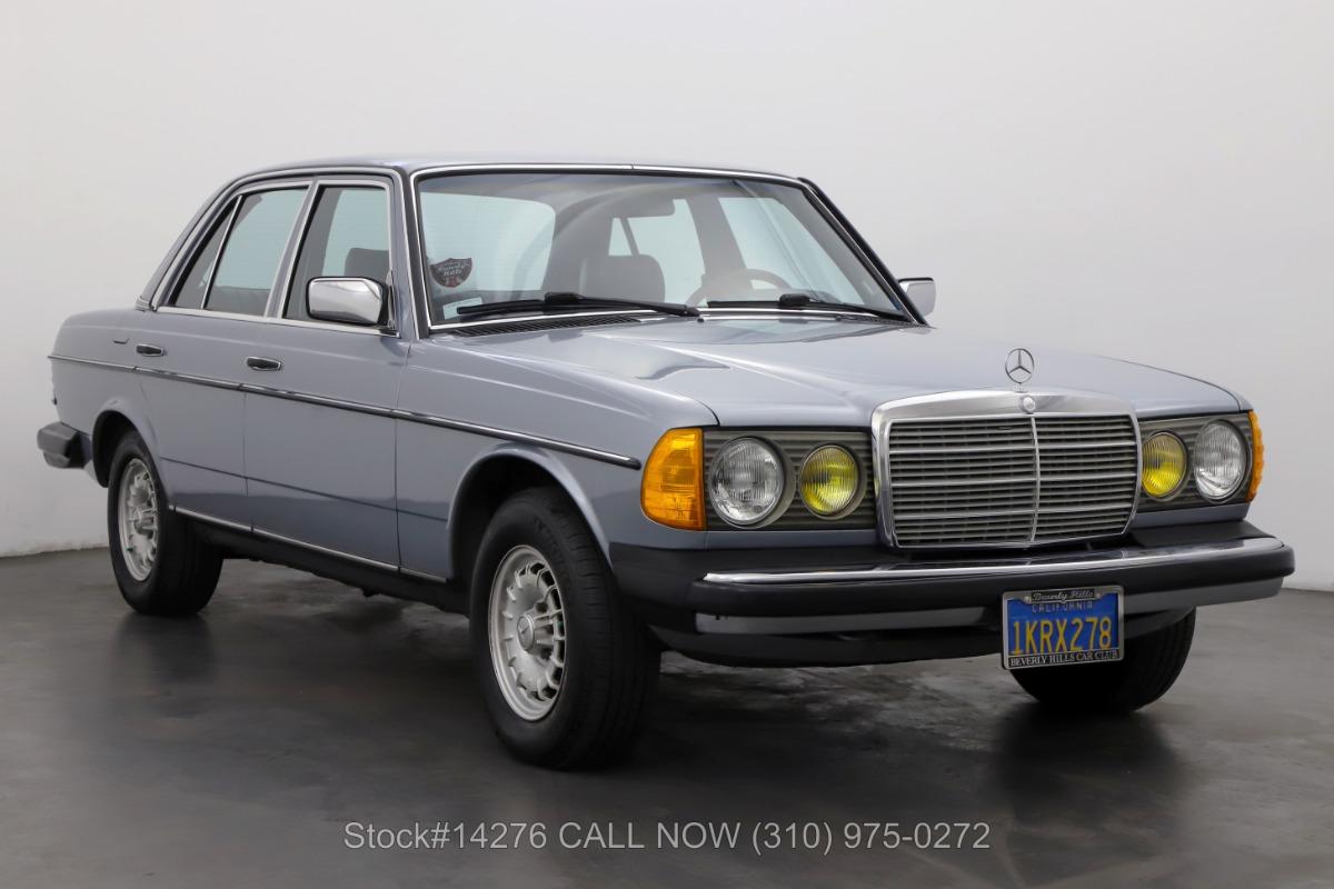 1984 Mercedes-Benz 300D Turbo Diesel