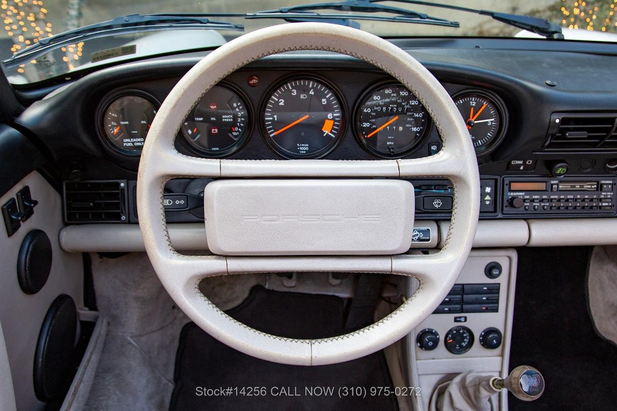 Used 1989 Porsche Carrera Cabriolet G50 25th Anniversary Edition | Los Angeles, CA
