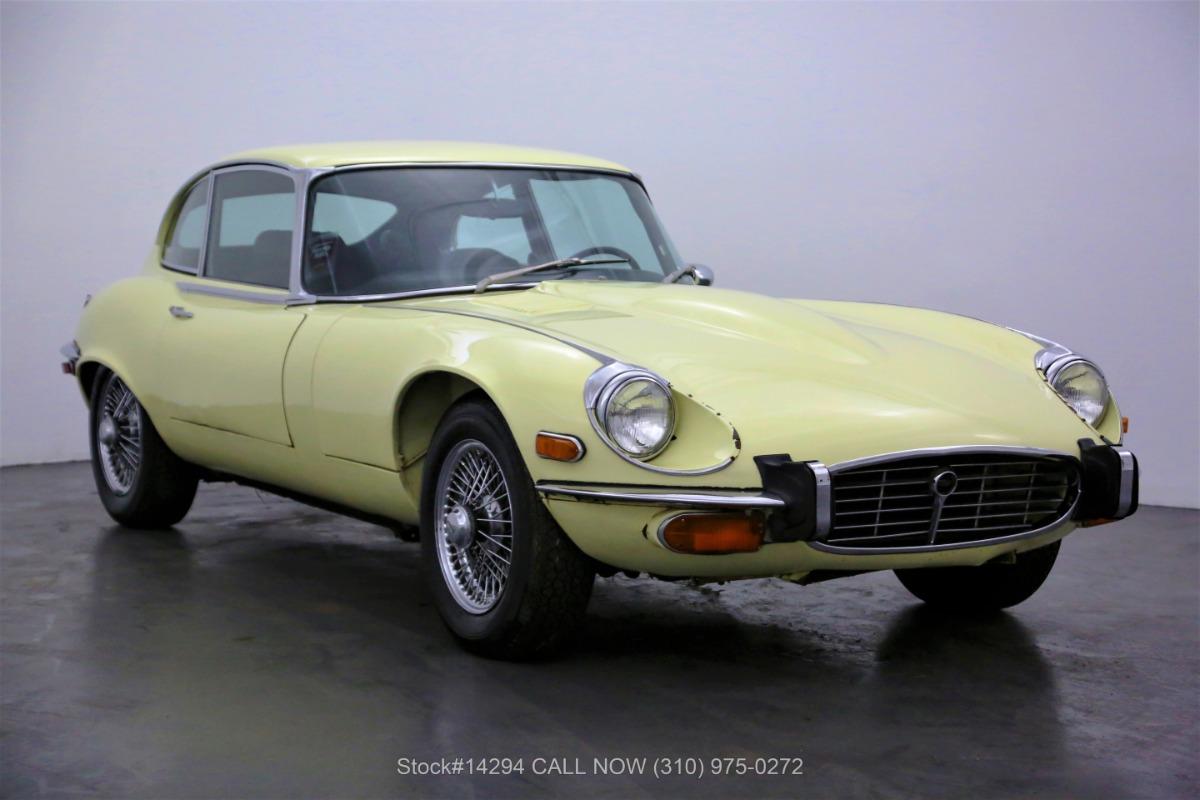 1973 Jaguar XKE V12 2+2
