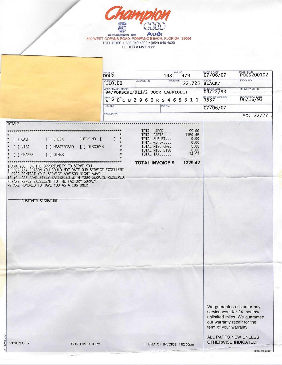 Used 1994 Porsche 911 Speedster   Los Angeles, CA