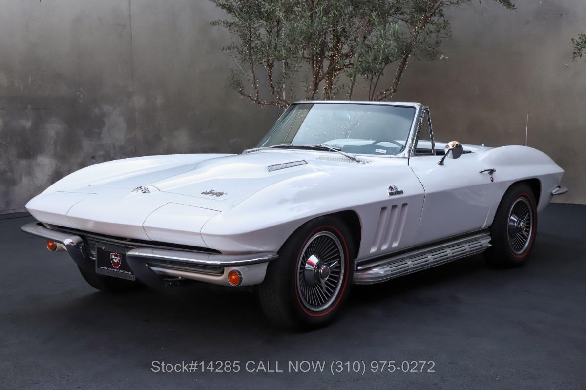 Used 1966 Chevrolet Corvette Convertible L36 427 4-Speed   Los Angeles, CA