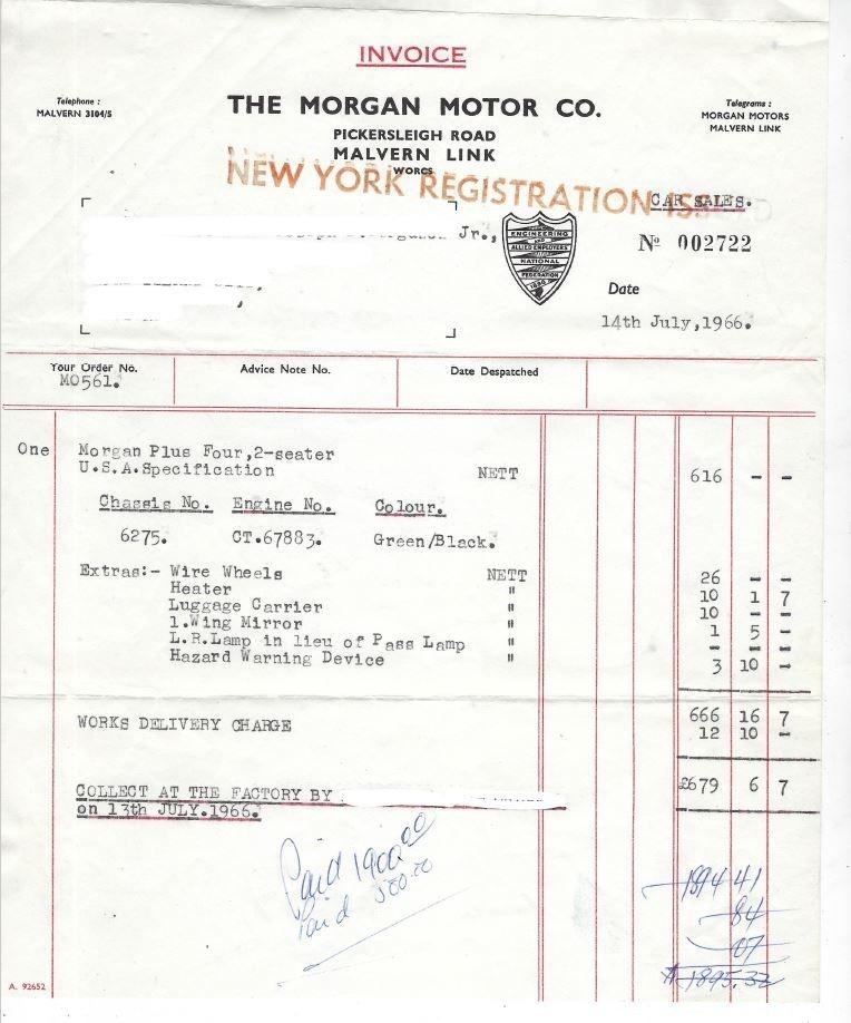 Used 1966 Morgan Plus 4 2-Seater Roadster Roadster   Los Angeles, CA
