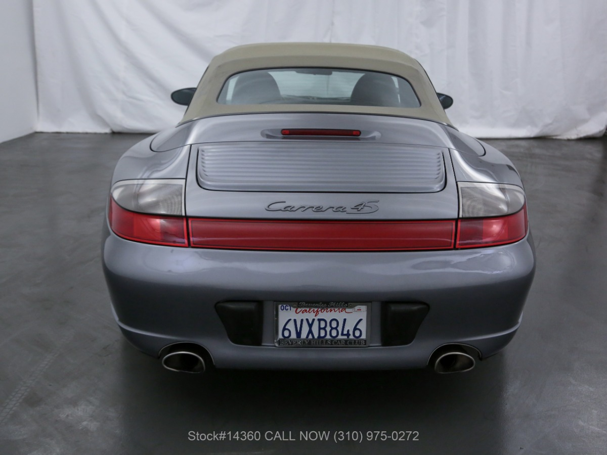 Used 2004 Porsche 911 Carrera 4S Cabriolet 6-Speed | Los Angeles, CA