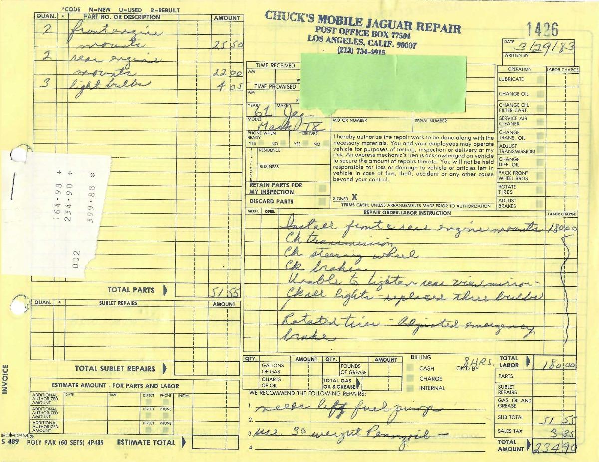 Used 1960 Jaguar MK IX 4-Door Saloon   Los Angeles, CA