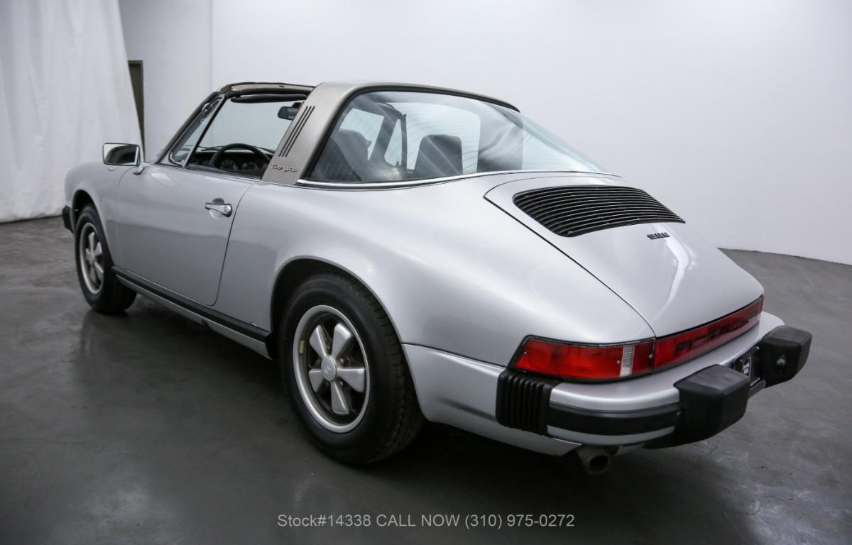 Used 1975 Porsche 911S Targa Silver Anniversary Edition | Los Angeles, CA