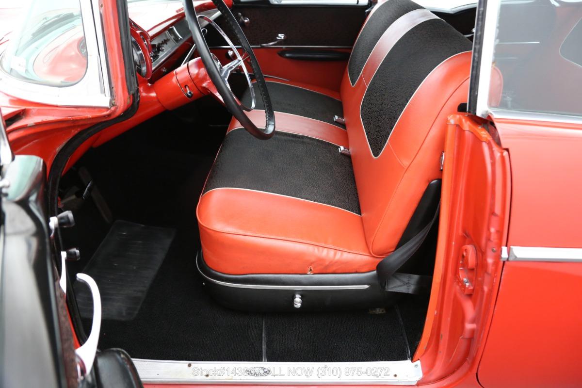 Used 1957 Chevrolet Bel Air 4-Door No-Post Hardtop Sedan | Los Angeles, CA