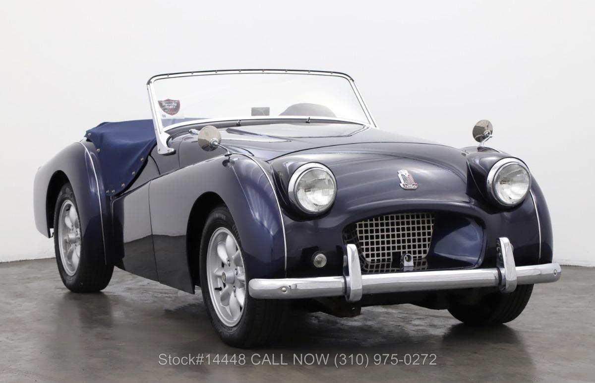 1955 Triumph TR2 Small Mouth