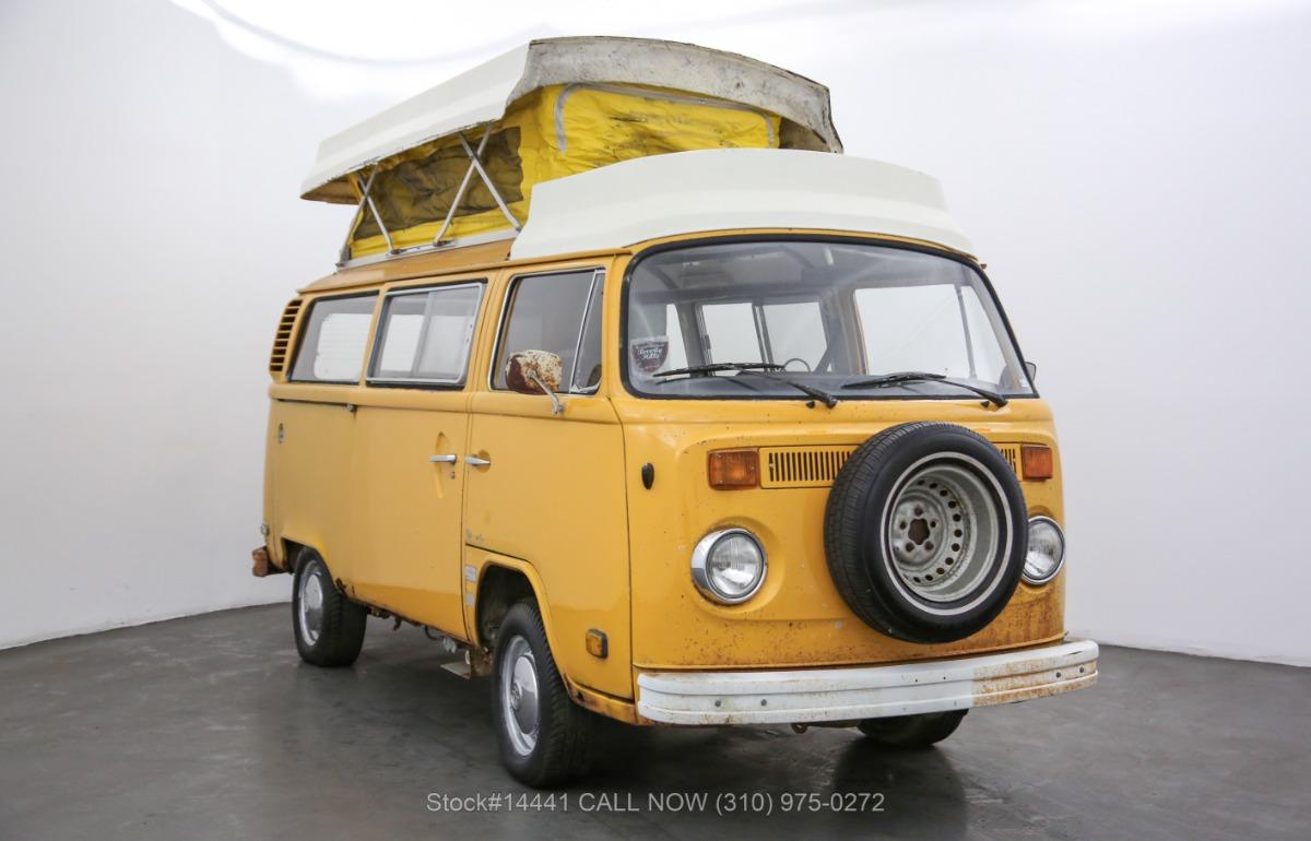 1977 Volkswagen Westfalia Camper Bus