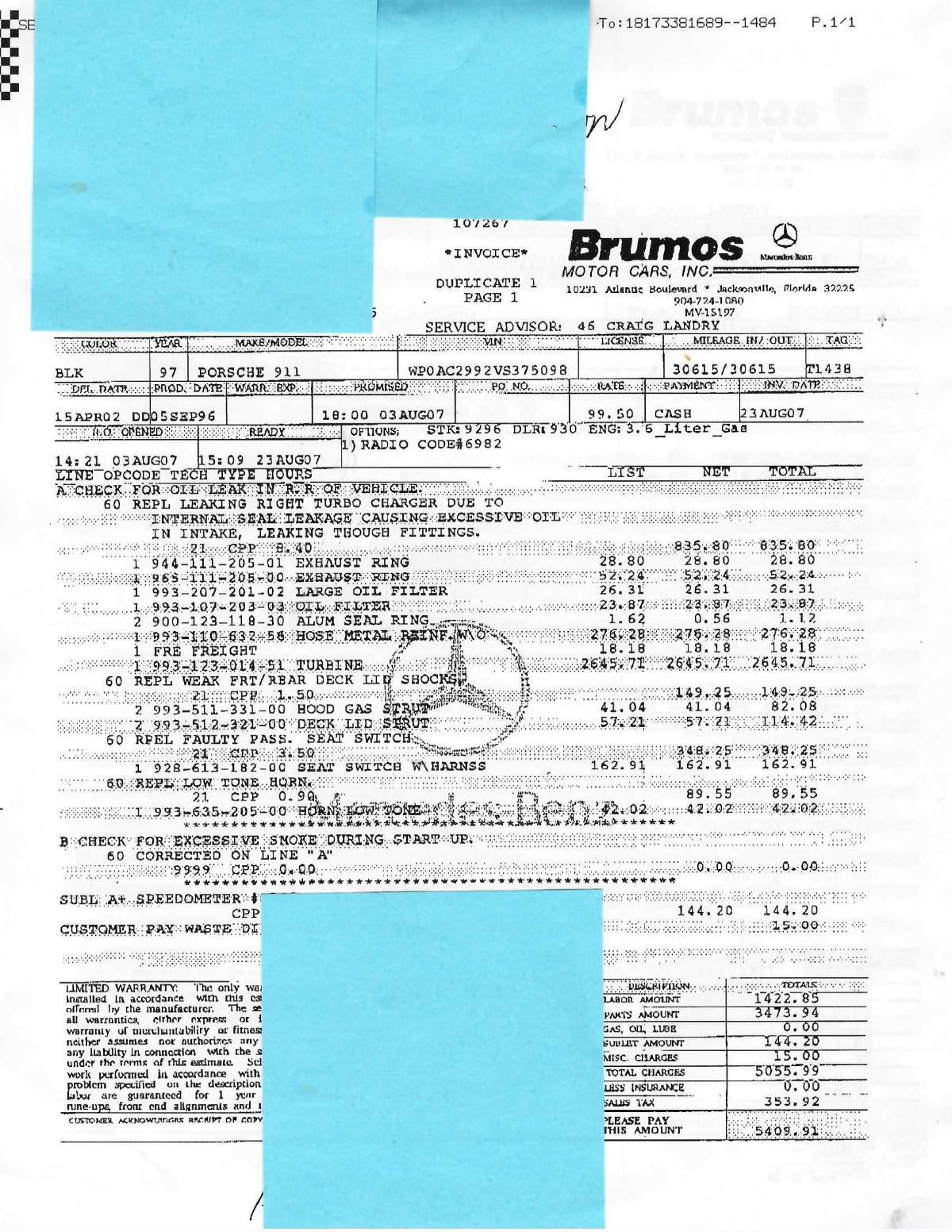 Used 1997 Porsche 993 Turbo    Los Angeles, CA