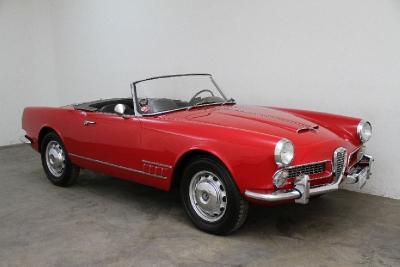 1959 Alfa Romeo 2000 Touring Spider  width=
