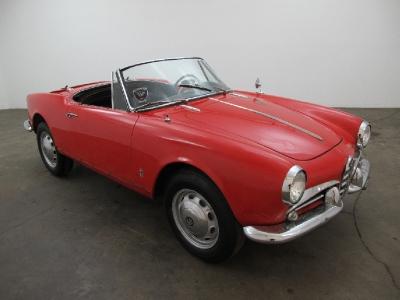 1963 Alfa Romeo Guilietta Spider  width=