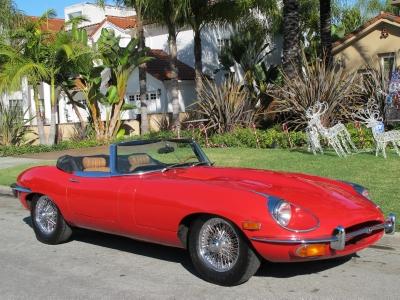 1969 Jaguar XKE Roadster width=