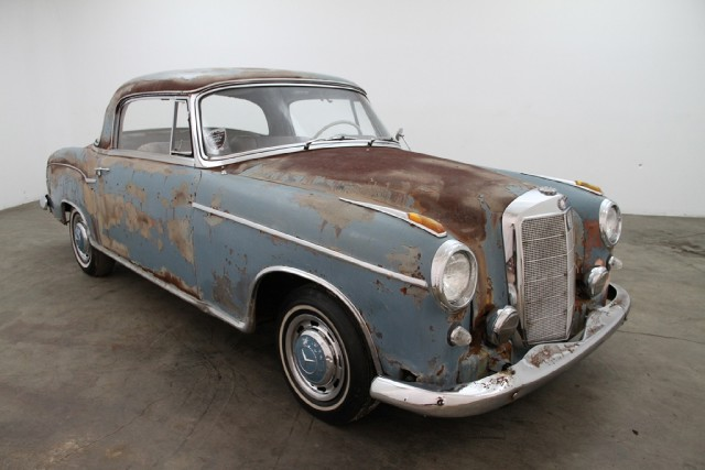1957 mercedes benz 220s coupe beverly hills car club for 1957 mercedes benz 220s