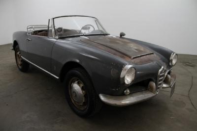 1964 Alfa Romeo Giulia Spider width=