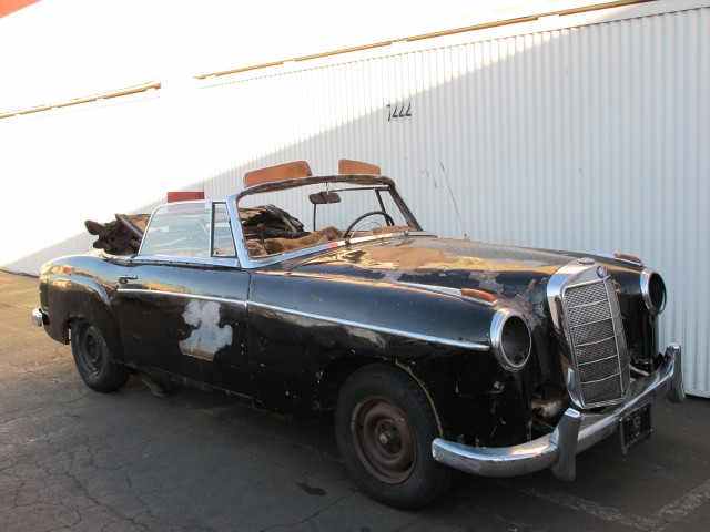 1957 mercedes benz 220s cabriolet beverly hills car club for Looking for mercedes benz for sale