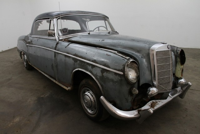 1959 mercedes benz 220s ponton coupe beverly hills car club for 1959 mercedes benz 220s