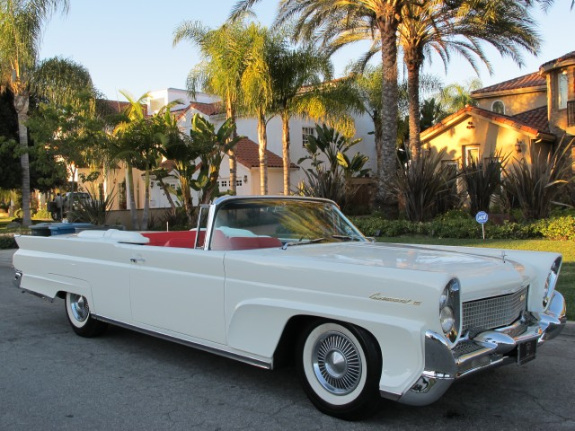 1958 Lincoln Continental Convertible Beverly Hills Car Club