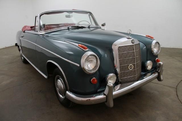 1960 mercedes benz 220se cabriolet beverly hills car club for Mercedes benz service beverly hills