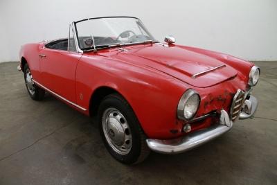 1965 Alfa Romeo Giulia Veloce Spider width=