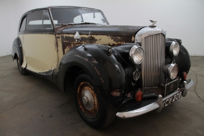 1949 Bentley MK IV James Young Coupe