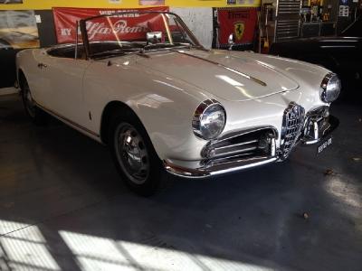 1960 Alfa Romeo Veloce Spider