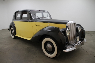 1950 Bentley MK VI Right Hand Drive