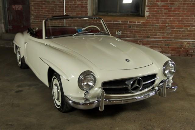 1956 mercedes benz 190sl beverly hills car club for Mercedes benz service beverly hills
