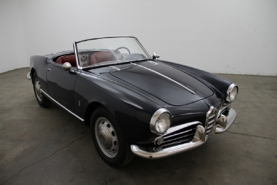 1958 Alfa Romeo Giulietta Spider Convertible width=