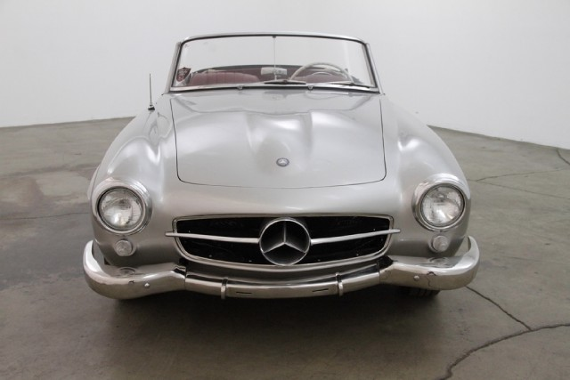 Find used 1959 mercedes benz 190sl 2 tops silver for Beverly hills mercedes benz used cars
