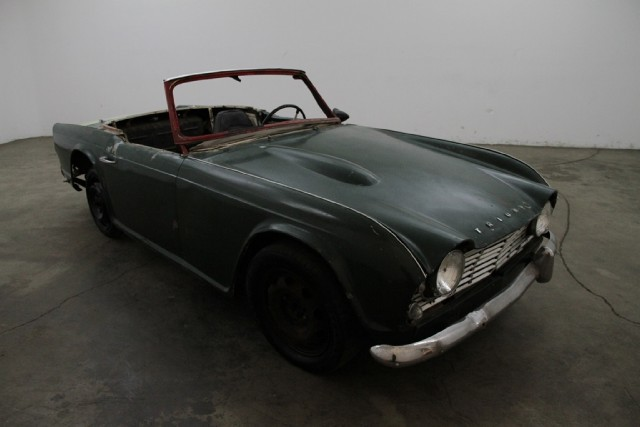 1962 Triumph TR4 | Beverly Hills Car Club