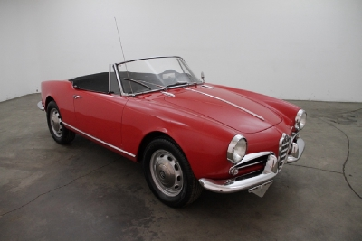 1961 Alfa Romeo Giulietta Spider width=