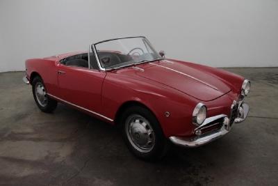 1962 Alfa Romeo Guiletta Spider width=