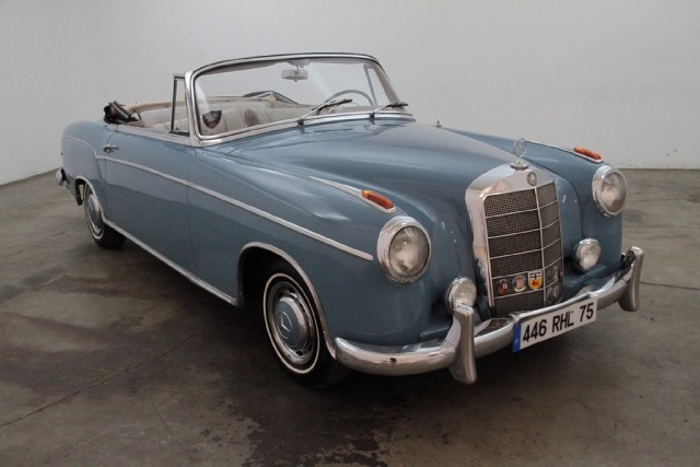 Buy used 1956 mercedes benz 220s cabriolet light blue for Beverly hills mercedes benz used cars