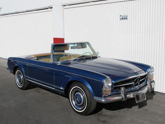 1964 mercedes benz 230sl beverly hills car club for Mercedes benz 230sl