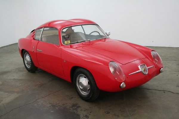 1960 Fiat Abarth Double Bubble Zagato