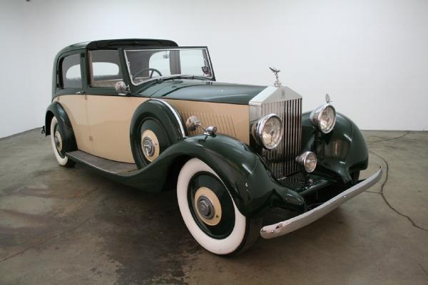 1936 Rolls Royce 20/25 Sedanca Deville By Parkward