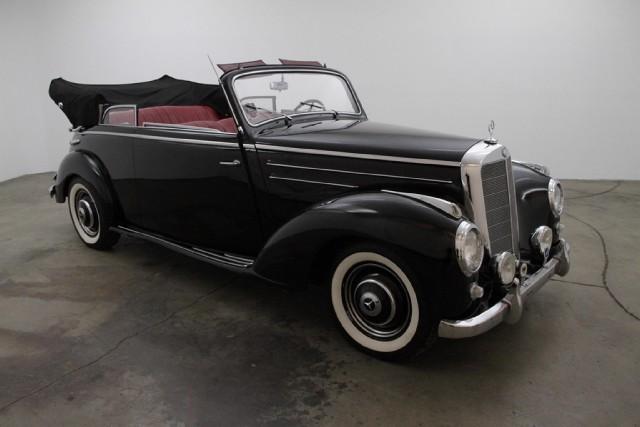 1952 mercedes benz 220b cabriolet beverly hills car club for Mercedes benz service beverly hills